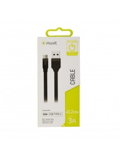 muvit cable USB-Tipo C 3A...